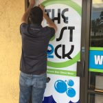 Outdoor Banner Window Graphics