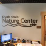 Knoch Nature Center Lobby Sign