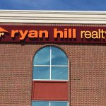 Ryan Hill Realty Storefront Sign