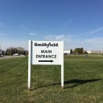 Smithfield Post & Panel Sign Wayfinding Sign