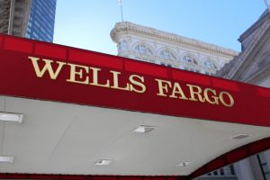 Wells Fargo Awning Sign