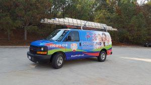 Stuart Pro Heating & Air Van Wrap