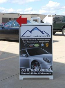 Promotional A-Frame Sign