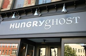 Hungry Ghost Exterior Sign