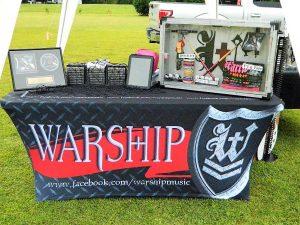 custom trade show table display