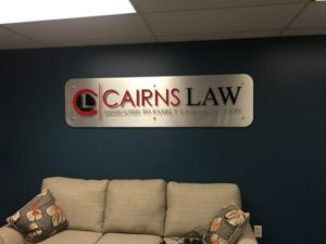 law firm lobby signs Naperville, IL
