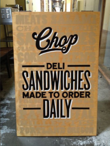 Sandwich Boards in Chicago