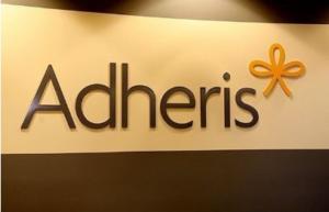 Adheris Lobby Signs Custom Made by Captivating Signs